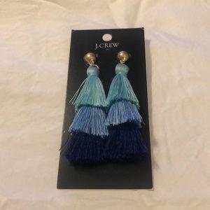 Tassel earrings from JCrew